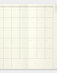 Travelers Notebook wklad 017 kalendarz sklep Pioromaniak