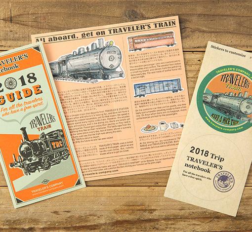 Kalendarz Travelers Notebook 2018 regular Diary 2018 sklep pioromaniak Diary Guide
