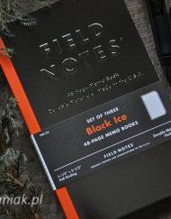 Notesy Field Notes Black Ice - sklep Pioromaniak.pl