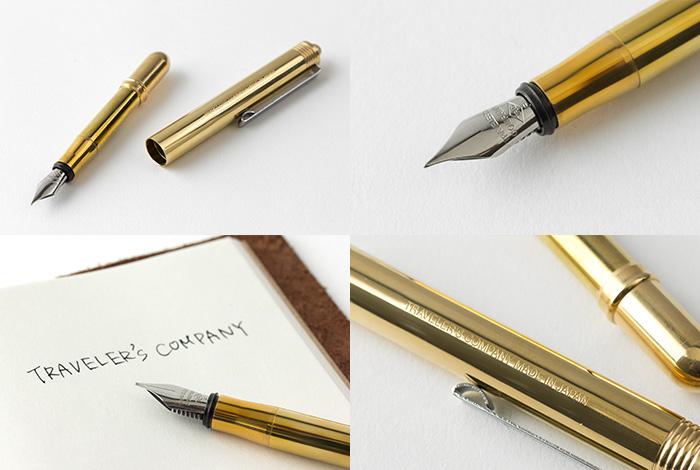 Travelers_Notebook_pioro_wieczne_brass_s