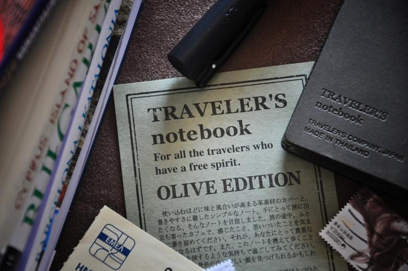 Travelers Notebook Olive Edition sklep Pioromaniak