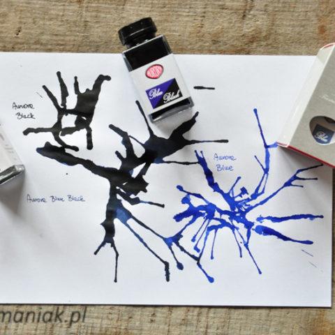 Atrament Aurora Black Blue sklep Pioromaniak.pl