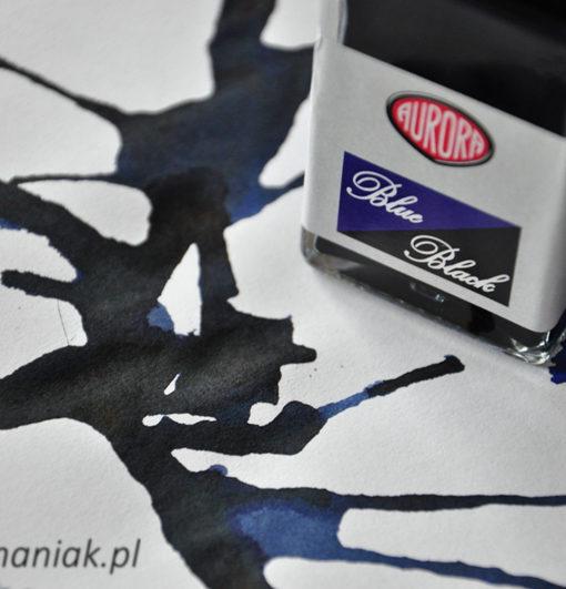 Atrament Aurora Blue Black sklep Pioromaniak.pl