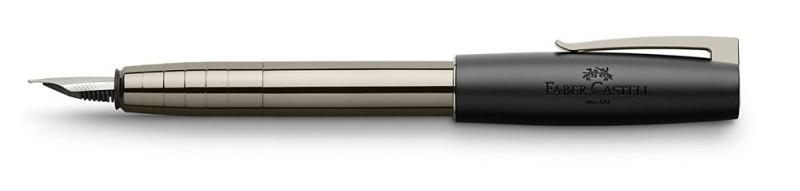 Faber-Castell Loom Shiny Gunmetal pioro wieczne sklep Pioromaniak