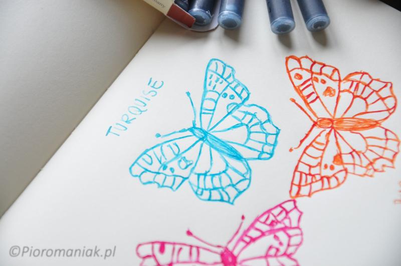 Atrament Graf von Faber Castell Turquoise