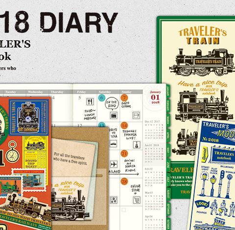 Travelers notebook kalendarze 2018 sklep pioromaniak travelers diary