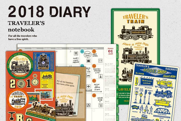 Travelers-notebook-kalendarze-2018-sklep