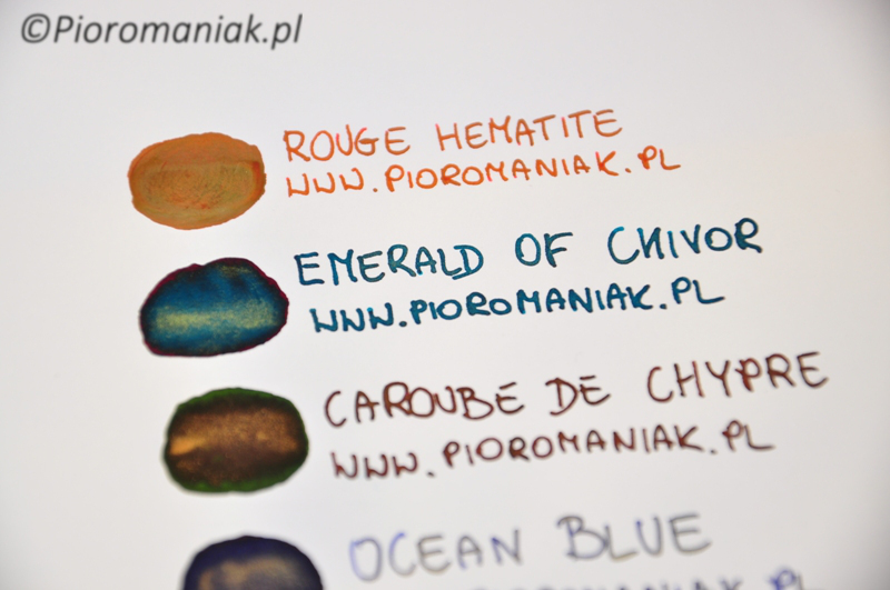 J. Herbin Emerald of Chivor atrament sklep Pioromaniak