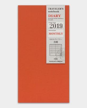Kalendarz Travelers Notebook Monthly miesieczny
