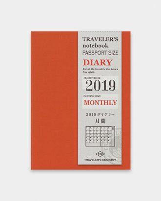 Kalendarz Travelers Notebook Monthly passport