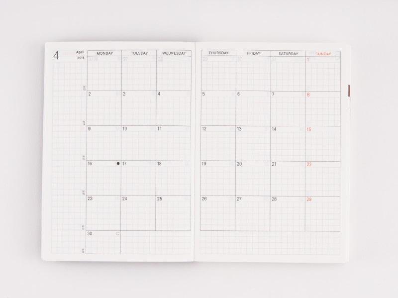 Kalendarz-hobonichi-2018-sklep-pioromaniak-planner