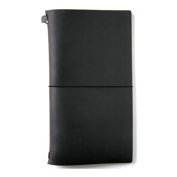 Midori Travelers Notebook czarny Black Pioromaniak.pl