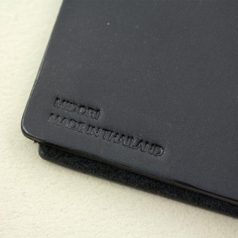 Midori Travelers Notebook Black Pioromaniak.pl