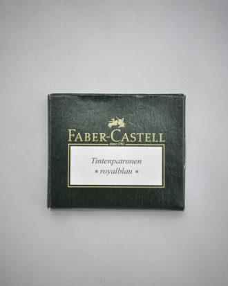 Faber-Castell naboje niebieskie Pioromaniak.pl