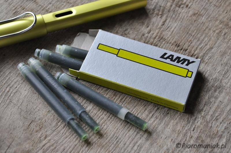 Pioro wieczne Lamy AlStar Charged Green sklep Pioromaniak