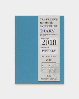 Kalendarz Travelers Notebook WEEKLY passport