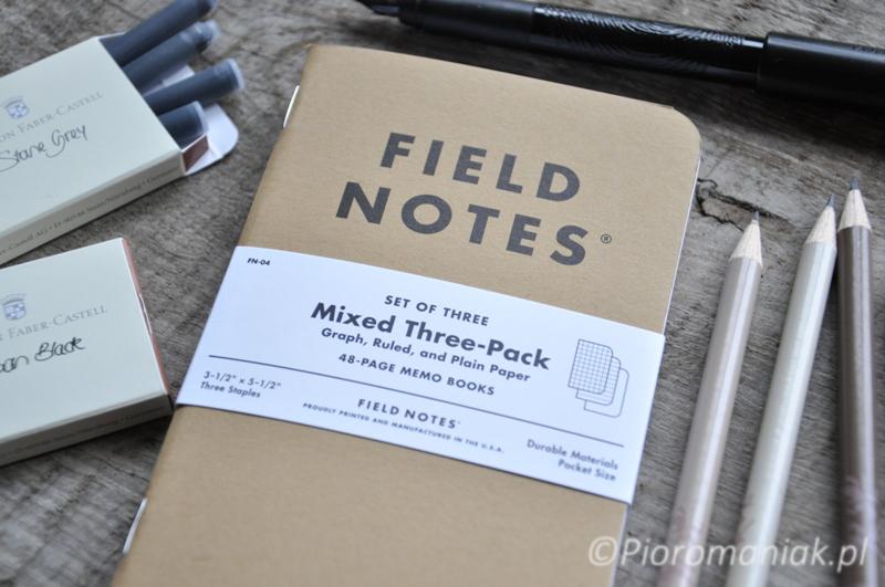 Notesy Field Notes Original - sklep Pioromaniak.pl