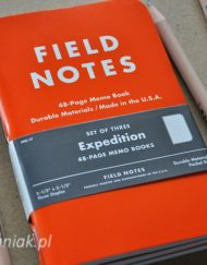 Notesy Field Notes Expedition - sklep Pioromaniak