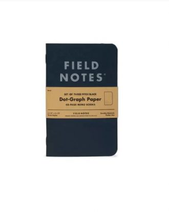 Notesy Field Notes Pitch Black sklep Pioromaniak