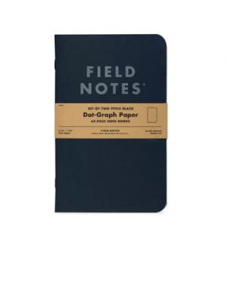 Notesy Field Notes Pitch Black sklep Pioromaniak duze