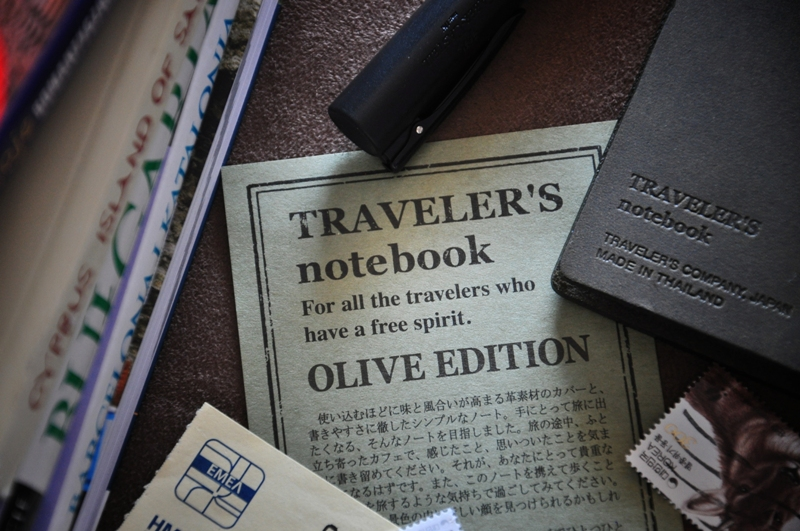 Travelers Notebook Olive Edition sklep Pioromaniak