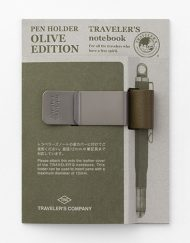 Traverlers Notebook Olive Edition Pen Holder sklep Pioromaniak