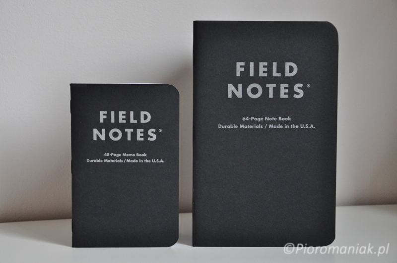 Field Notes Pitch Black notes notatniki sklep Pioromaniak.pl