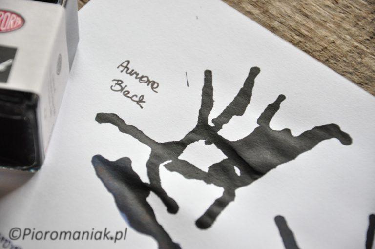 Atrament Aurora Black czarny sklep Pioromaniak.pl