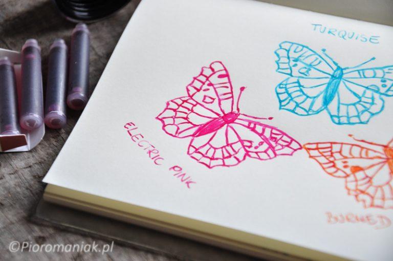 Atrament Graf von Faber Castell Electric Pink sklep Pioromaniak
