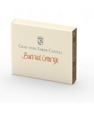 Faber Castell pomaranczowy naboje do piora