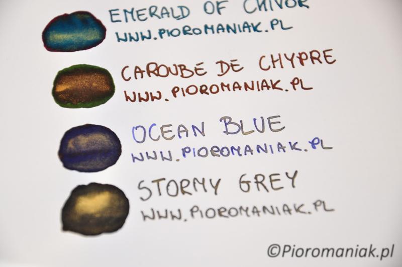 J. Herbin Ocean Blue atrament - sklep Pioromaniak
