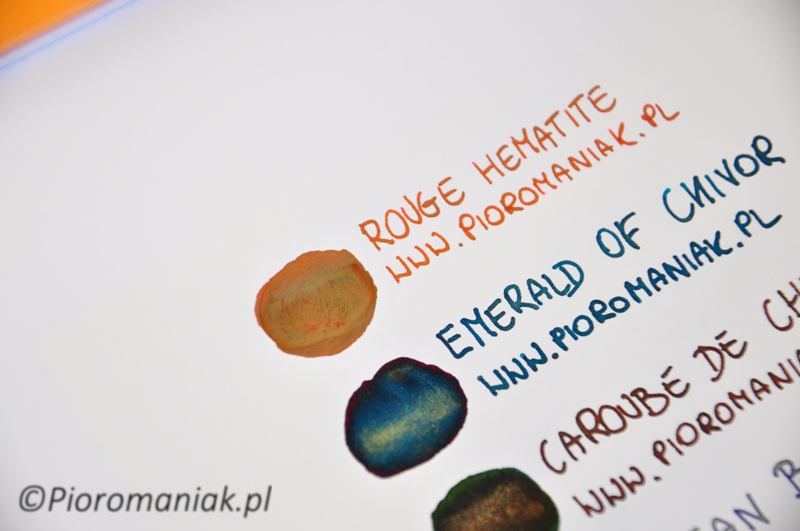 J. Herbin Rouge Hematite atrament sklep Pioromaniak