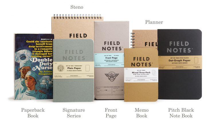 Dwupak notatników Field Notes Signature.