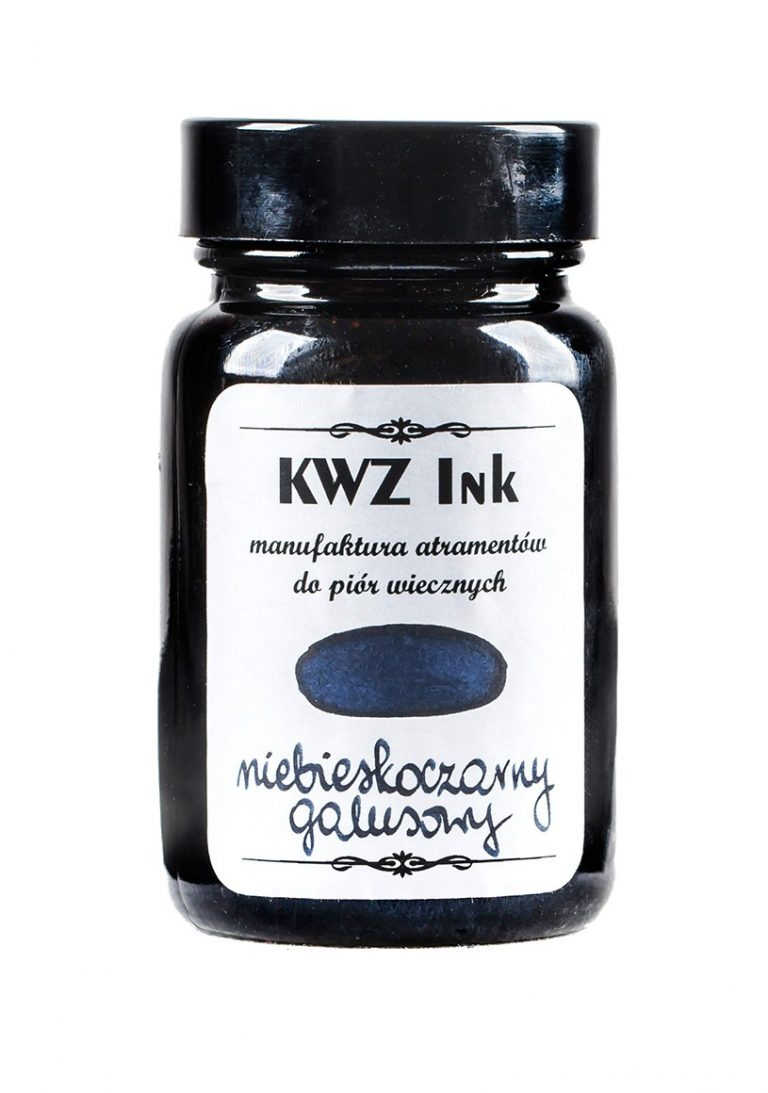 KWZ Ink niebiesko-czarny galusowy