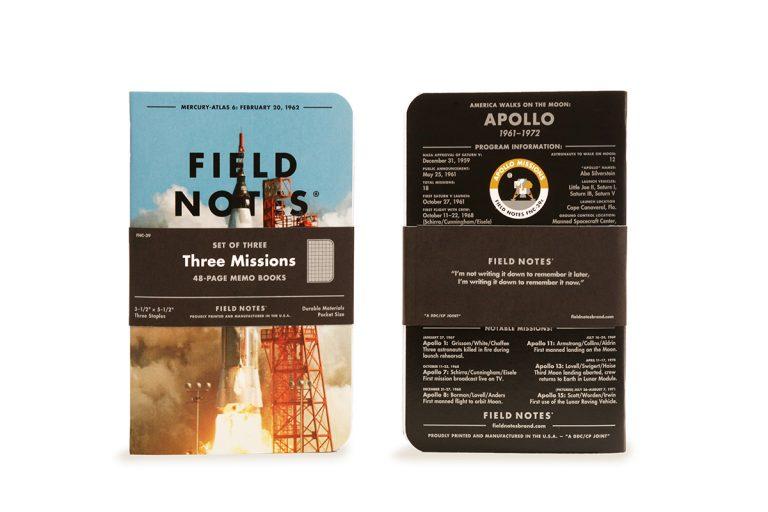 Field Notes Three Missions trójpak