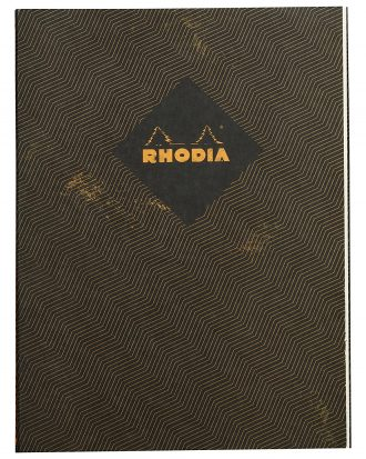 Rhodia Heritage Chevrons Black