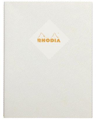 Rhodia Heritage Chevrons White