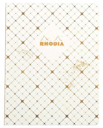 Rhodia Heritage Quadrille White
