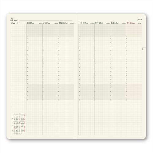 NOLTY Listy 1 kalendarz tygodniowy