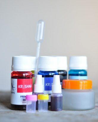 Krishna Make Your Colour Ink Set