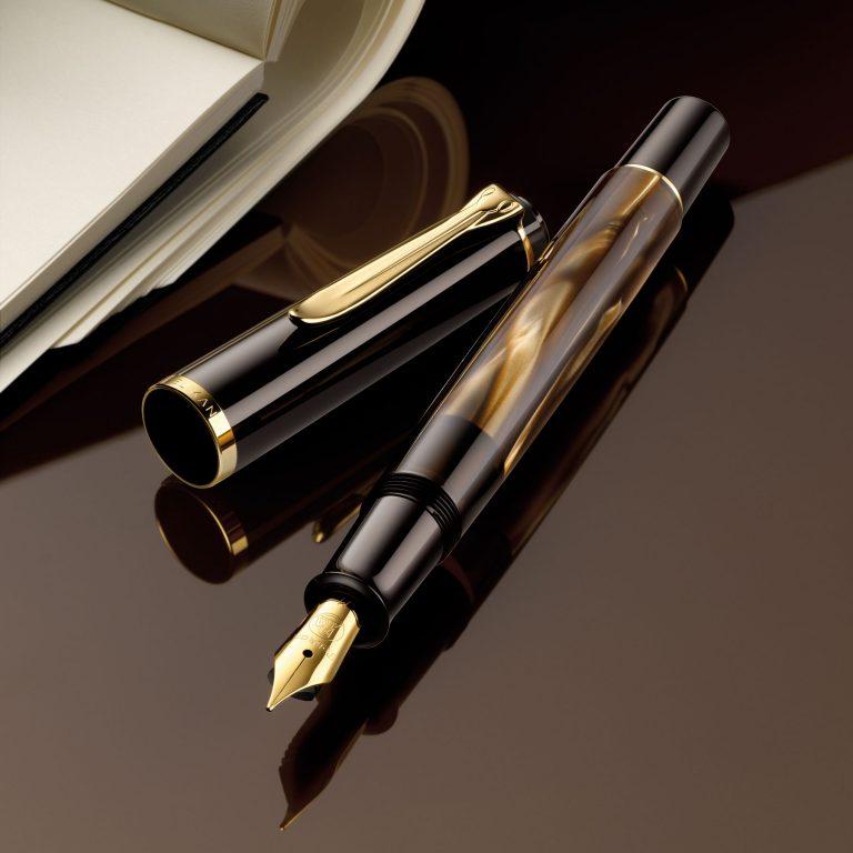 Pelikan M200 brazowy