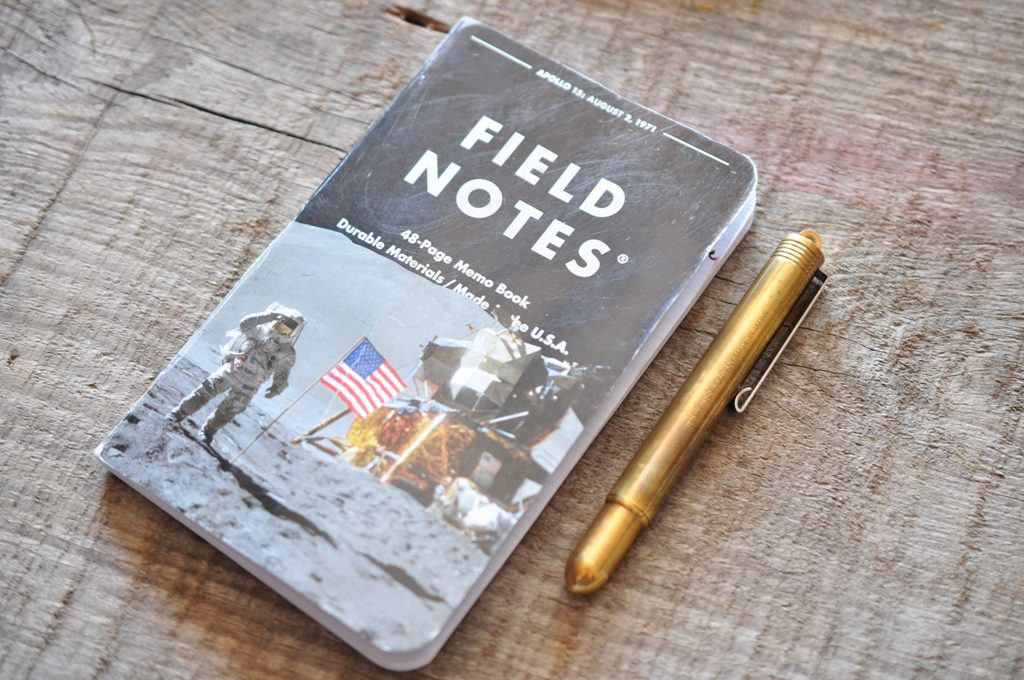 Field Notes Three Missions TRC Brass Pen