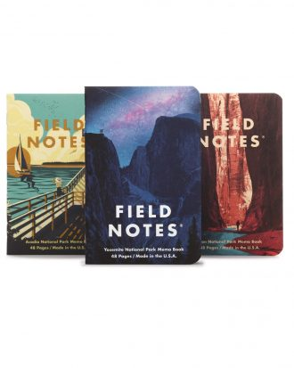 Field Notes National Parks_A