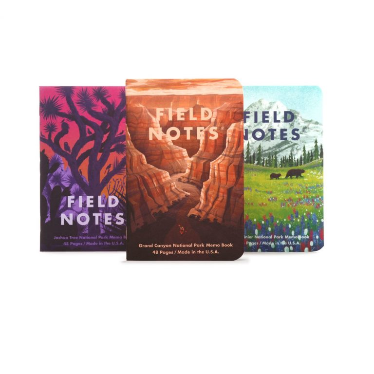Field Notes National Parks_B