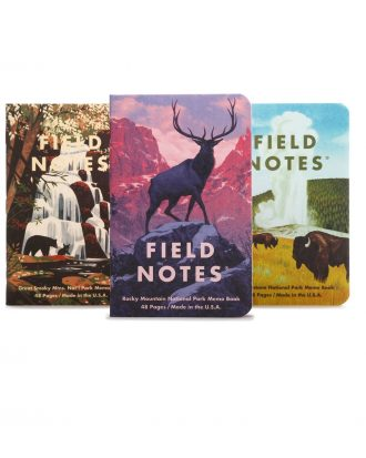 Field Notes National Parks_C