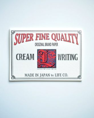 Life L Brand Writing Paper Pad A5 Horizontal Cream poziomy