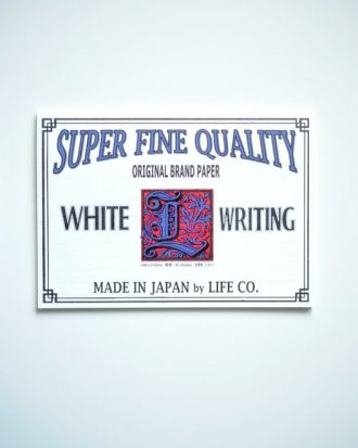 Life L Brand Writing Paper Pad A5 Horizontal White poziomy