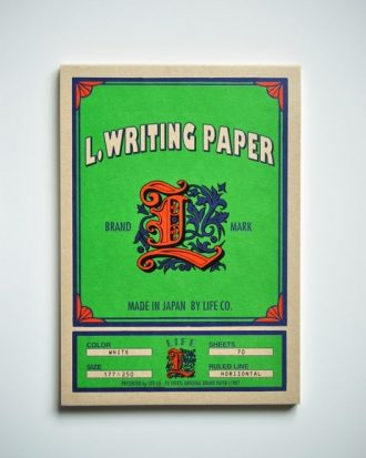 Life L Brand Writing Paper Pad B5 Horizontal