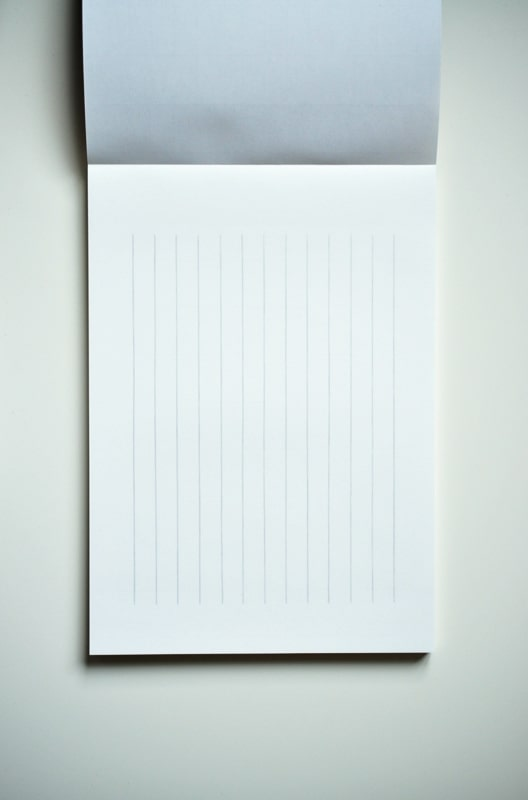 Life L Brand Writing Paper Pad B5 Vertical Interior