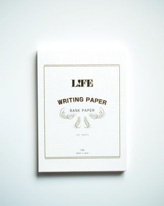 Life Writing Paper Bank Paper Snow